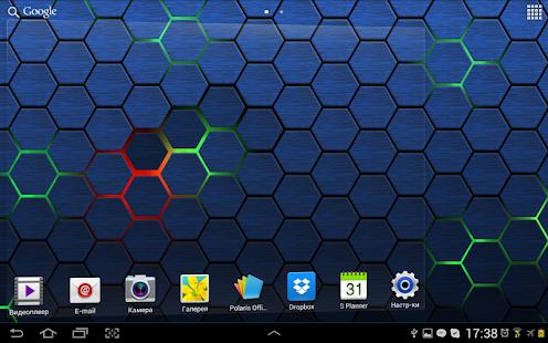 Honeycomb 2 LIve Wallpaper