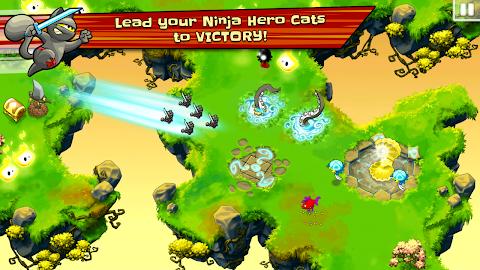 Ninja Hero Cats Screenshot 6