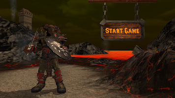 Screenshot of Orcs vs Mages and Wizards FREE