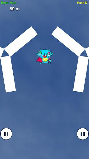 無料のタップアクションゲーム: ねこっとび