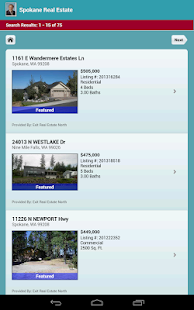 Spokane Real Estate - screenshot thumbnail