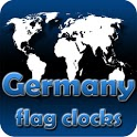 Germany flag clocks icon