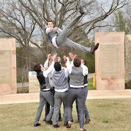 Someone please help me by Dennis McClintock - Wedding Groom ( groomsmen, anything wedding challenges, wedding, groom,  )