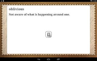 Screenshot of Words, words, words!