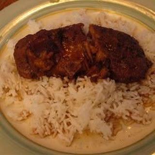 Spiced Plum Pork Chops.