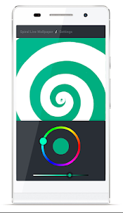 Spiral Live Wallpaper FREE- screenshot thumbnail
