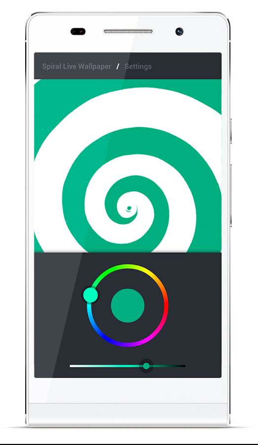 Spiral Live Wallpaper FREE - screenshot