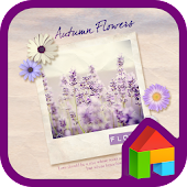 flowers dodol launcher theme