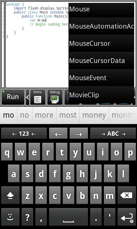 IDEaS- screenshot