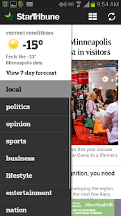 Star Tribune News- screenshot thumbnail