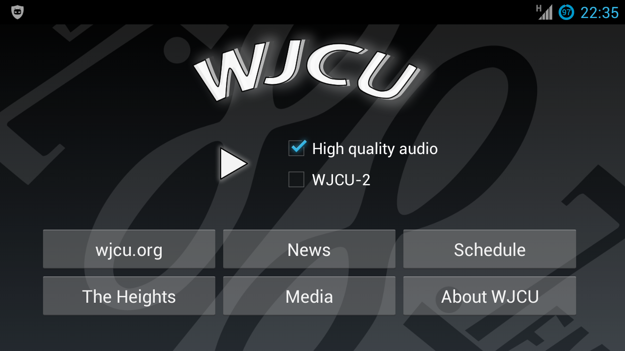 WJCU Radio, 88.7 FM Cleveland- screenshot