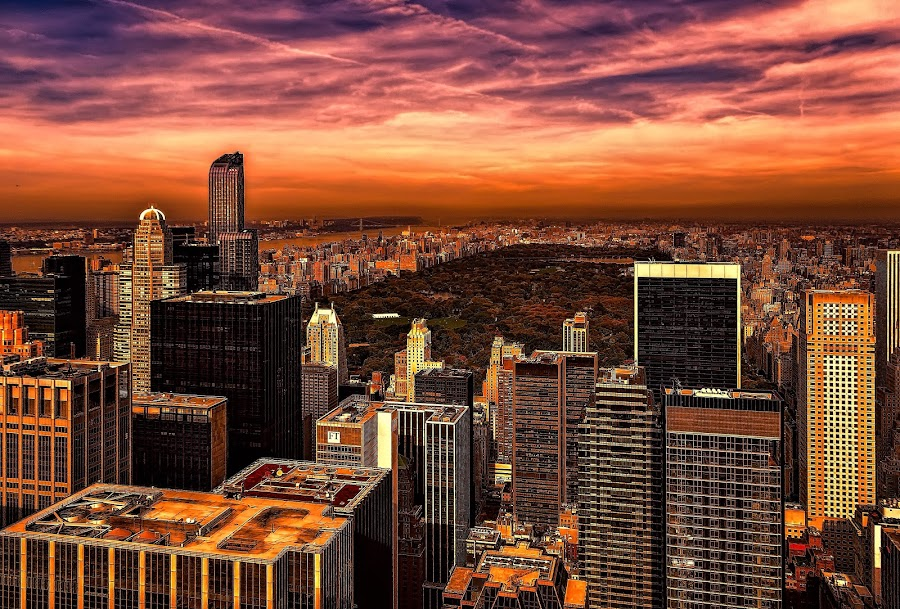 new york by Christian Heitz - City,  Street & Park  Historic Districts