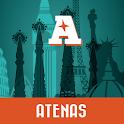 Atenas guía mapa offline