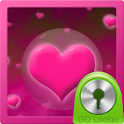 Hearts Theme for GO Locker icon