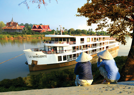 La-Marguerite-on-Mekong-River - AmaWaterways no longer offers cruises on the 92-passenger La Marguerite.
