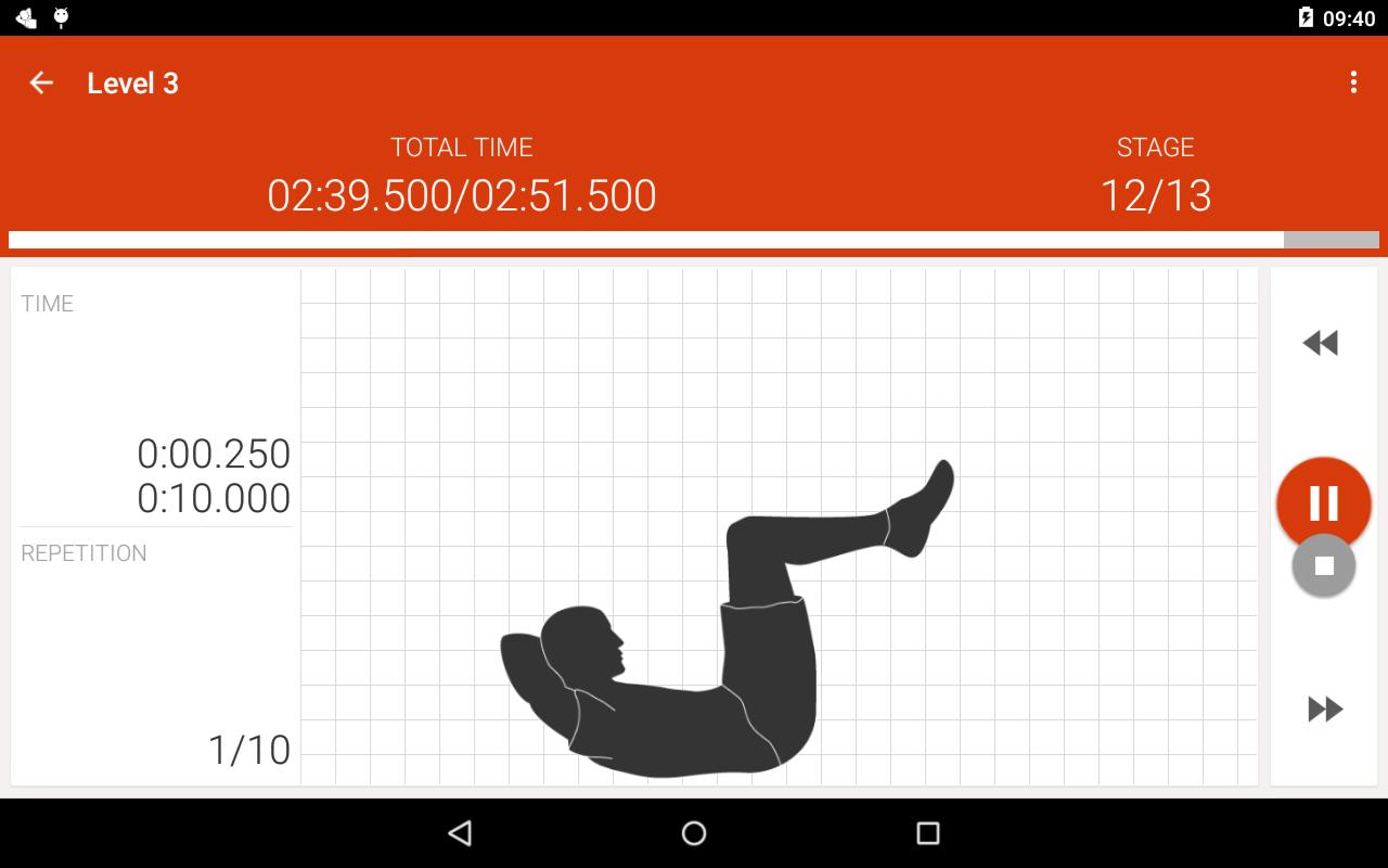 Abs workout II PRO - screenshot