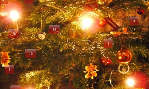 Advent calendar with Xmassongs - screenshot thumbnail