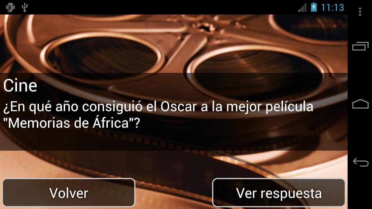 Preguntas de Trivial - screenshot