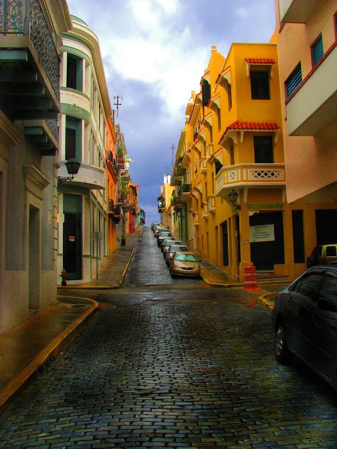 Old San Juan  by Ydoya Rodriguez - City,  Street & Park  Neighborhoods