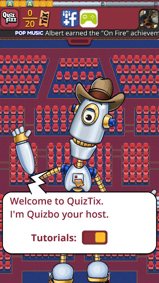 QuizTix: Movies Quiz - screenshot