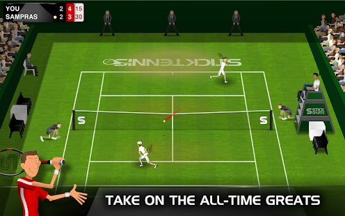 Stick Tennis Screenshot 17