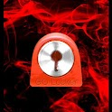 GO Locker Theme Smoke Fire icon