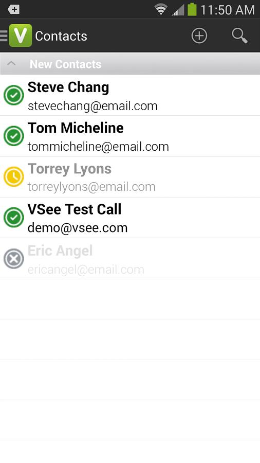 VSee - screenshot