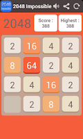 Screenshot of 2048 Impossible