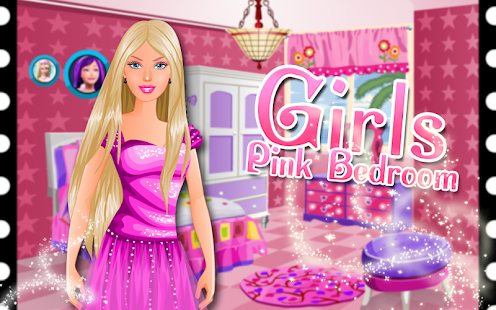 Pink Bedroom - Games for Girls 家庭片 App-愛順發玩APP