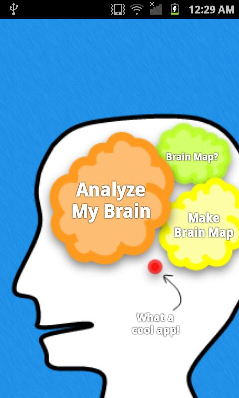 My Brain Map Free for Facebook - screenshot