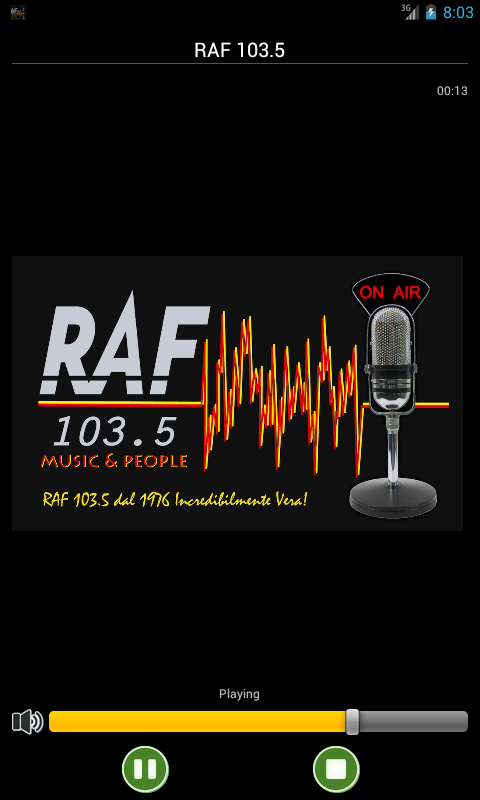Raf103.5 - screenshot