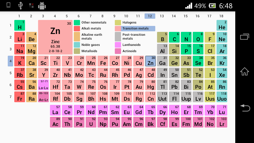 91 periodic table with names afrikaans table afrikaans with table periodic afrikaans with names play op android periodic table google apps urtaz Choice Image