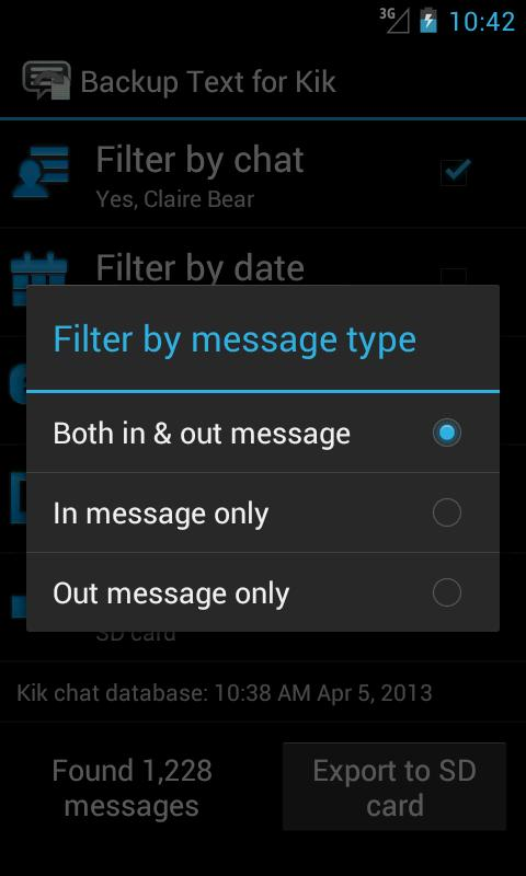 Backup Text For Kik Root Android Apps On Google Play