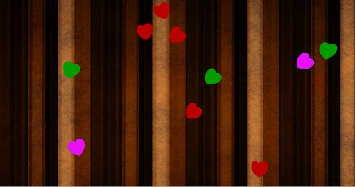 Falling Hearts Wallpaper