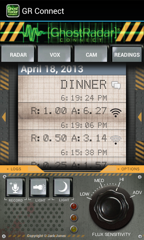Ghost Radar®: CONNECT- screenshot