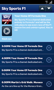 Sky Sports Mobile TV - screenshot thumbnail
