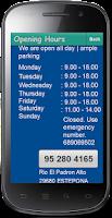 Screenshot of Pointer Clinic Estepona