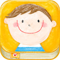 nicori-kids photo diary app- icon