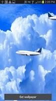 Screenshot of Live Airplanes Wallpaper