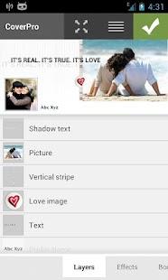 Template Love - CoverPro - screenshot thumbnail