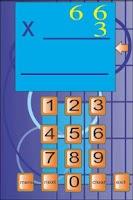 Screenshot of Multiplication Exerciser