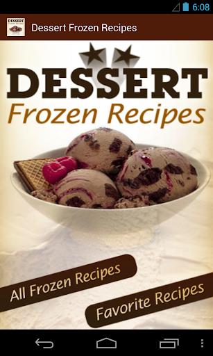 Dessert Frozen Recipes