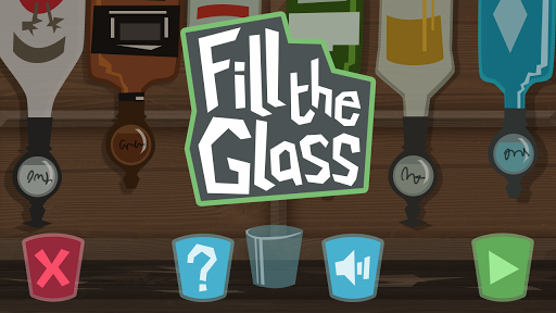 Fill The Glass - Drinking Game
