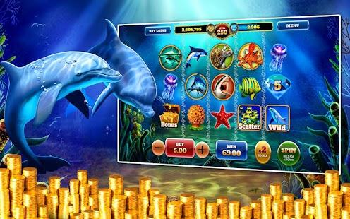 Dolphin Treasures Slots Pokies