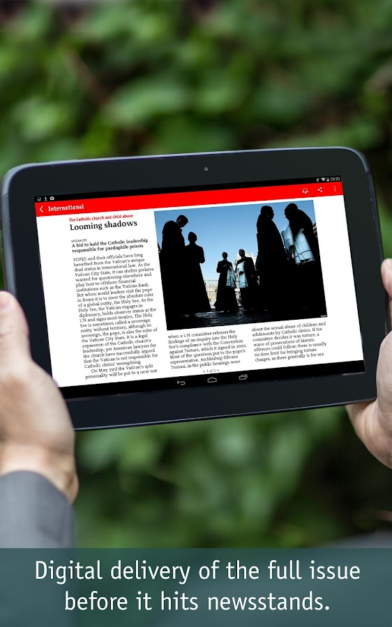 The Economist - screenshot
