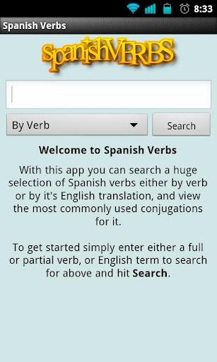 Spanish Verbs Free