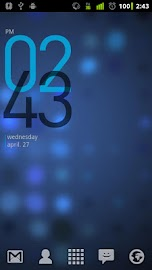 Minimal Clock Widget Screenshot 2
