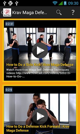 Krav Maga Training Video
