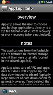 App2zip- screenshot thumbnail
