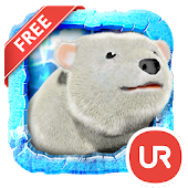 UR 3D Polar Bear HD Wallpaper